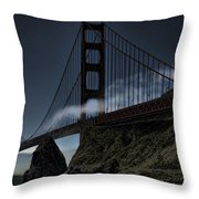 Fog's Slow Release Throw Pillow