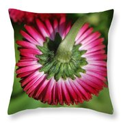 Folded Flower Throw Pillow
