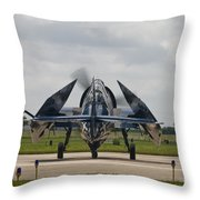 Folded Wings Throw Pillow