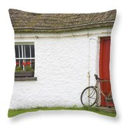 Folk Village Museum, Glencolmcille Throw Pillow