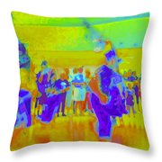 Folklorico 3 Throw Pillow