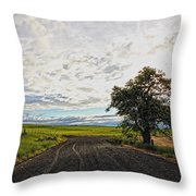 Follow The Clouds Throw Pillow