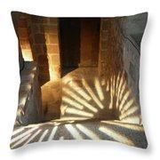Follow The Light-stairs Throw Pillow