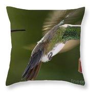 Follow-up Throw Pillow