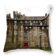 Fonthill Castle In The Rain  Throw Pillow