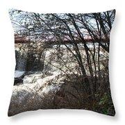 Foot Bridge 2 Throw Pillow