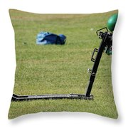Football Sled Throw Pillow