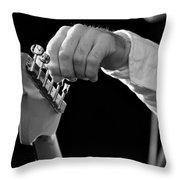 For Better Sound Throw Pillow