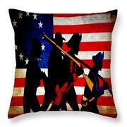For Liberty Throw Pillow