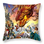 For Love  Throw Pillow