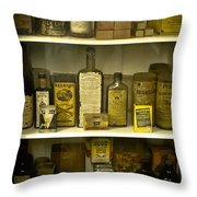 For Pets And Pests Of The 19th Century Throw Pillow