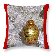 For That Special Christmas Card Throw Pillow