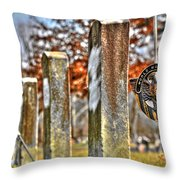 For Their Service Throw Pillow