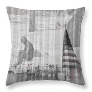 For Those Who Served Throw Pillow
