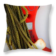 For Your Safety-ii Throw Pillow