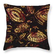 Foraminiferous Limestone Lm Throw Pillow