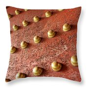 Forbidden City Door Throw Pillow