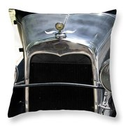 Ford A 1931 Headlights Throw Pillow