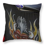 Ford And The Devil Throw Pillow
