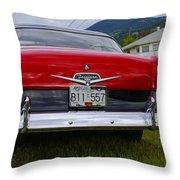 Ford Fairlane Crown Victoria Throw Pillow