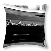 Ford Galaxie Throw Pillow