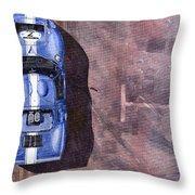 Ford Gt40 Leman Classic Throw Pillow