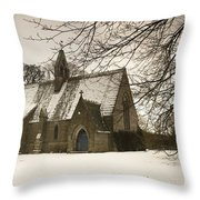 Ford, Northumberland, England Country Throw Pillow