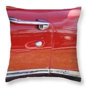 Ford Ranchero Door And Side Panel Throw Pillow