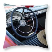 Ford Ranchero Seating Throw Pillow