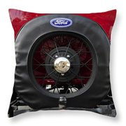 Ford T Bucket Throw Pillow