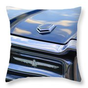 Ford Thunderbird Tail Lights Throw Pillow