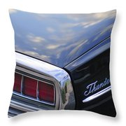 Ford Thunderbird Taillight Throw Pillow