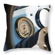 Ford Truck Dashboard Throw Pillow
