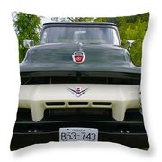 Ford V8 Throw Pillow