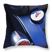Ford V8 Taillight And Gas Cap Throw Pillow