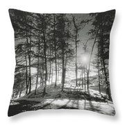 Forelacka Burial Ground Throw Pillow