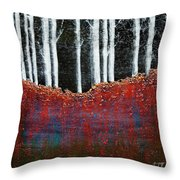 Forest 1 Throw Pillow