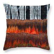 Forest 3 Throw Pillow