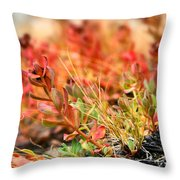 Forest Folaige Throw Pillow