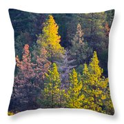 Forest Foliage  Throw Pillow