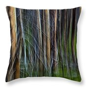 Forest Impression No.119 Throw Pillow