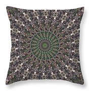Forest Mandala 2 Throw Pillow