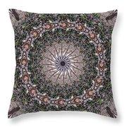 Forest Mandala 5 Throw Pillow