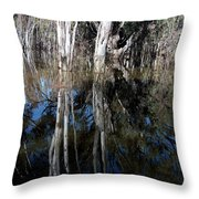 Forest Spin Throw Pillow