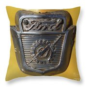 Forever Ford Throw Pillow