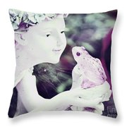 Forever Waiting For My Prince Throw Pillow