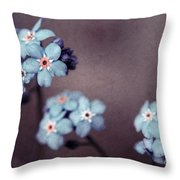 Forget Me Not 01 - S05dt01 Throw Pillow