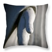 Forgiven Throw Pillow by Maglioli Studios