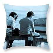 Forgiveness Throw Pillow by Syed Aqueel