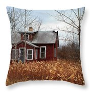 Forgotten And Abandoned Throw Pillow